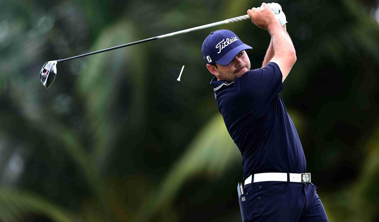 Marcelo Rozo, golfista colombiano, ganó oro en los Juegos Centroamericanos y del Caribe.