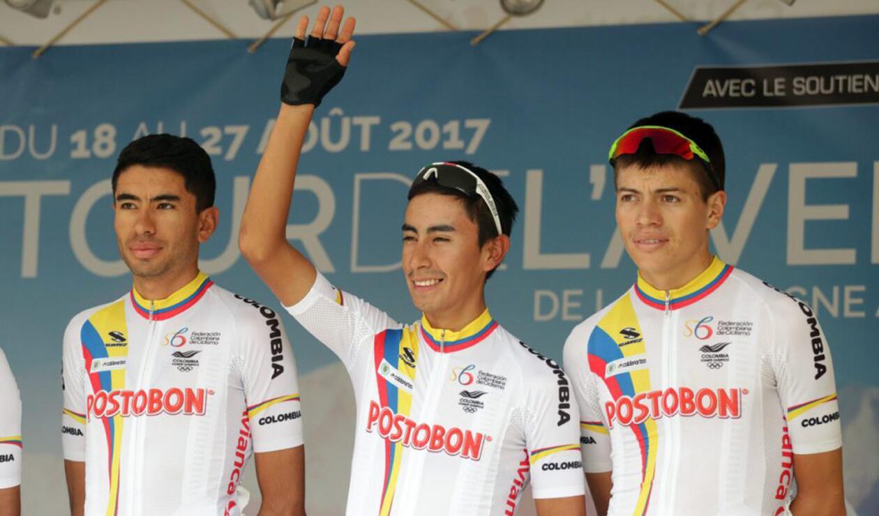 Selección Colombia de Ciclismo lista para el Tour de L'Avenir