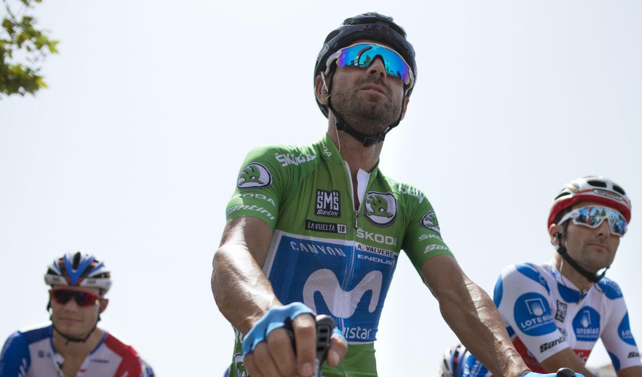 Alejandro Valverde, ciclista del Movistar Team