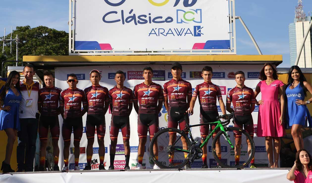 Presentación del equipo Tolima Es Pasión en el Clásico RCN 2018
