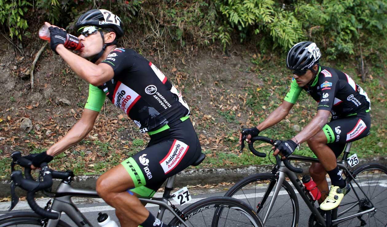 El ganador de la cuarta etapa del Clásico RCN, Carlos Julián Quintero