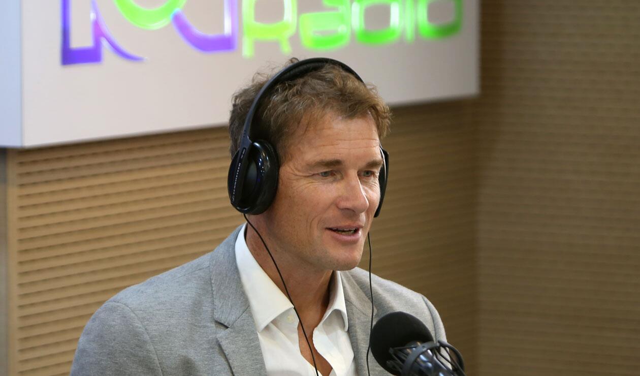 Jens Lehmann, exarquero del Schalke 04 y Arsenal, en los estudios de RCN Radio