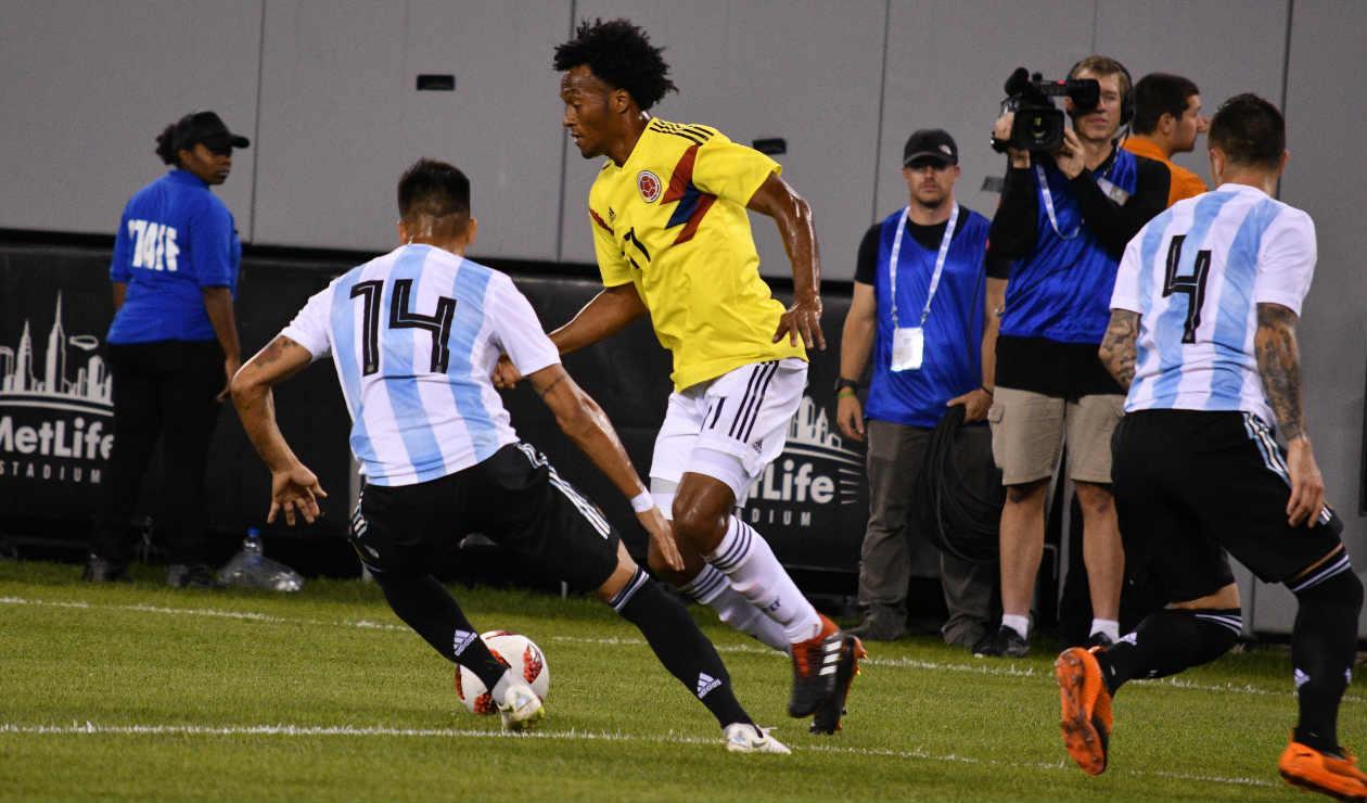 Tras empatar ante Argentina, Colombia enfrentará a Estados Unidos en suelo norteamericano