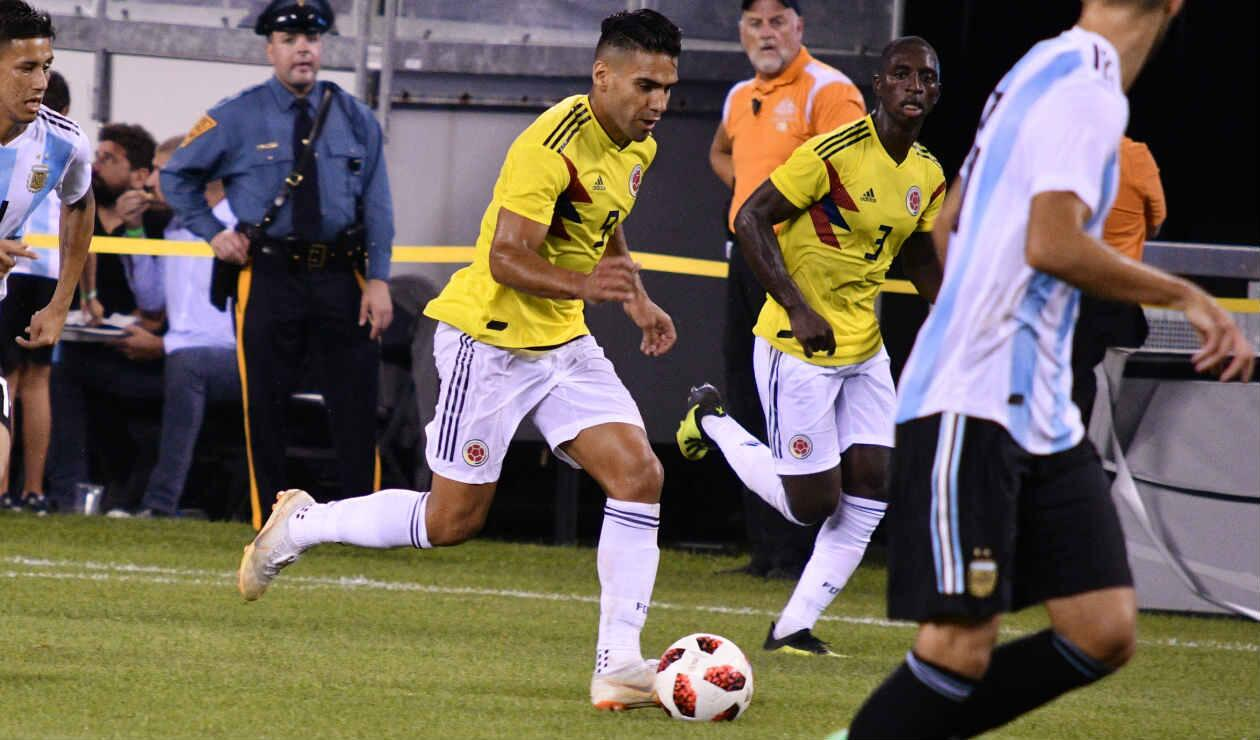 Falcao se volvió a ir sin marcarle gol a la Selección Argentina