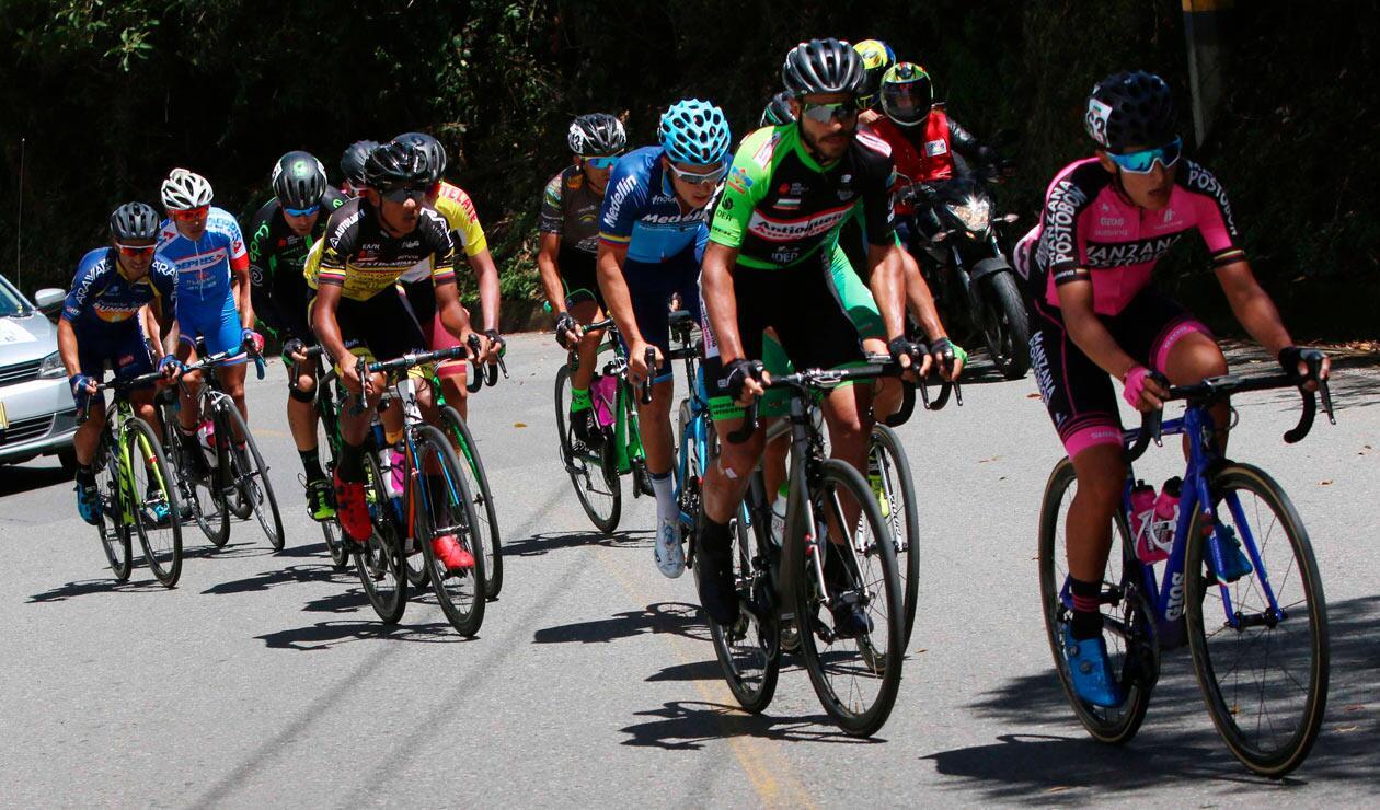 La etapa llevó el lote por un recorrido con constantes subidas y bajadas que el líder Alex Cano supo manejar para evitar sorpresas