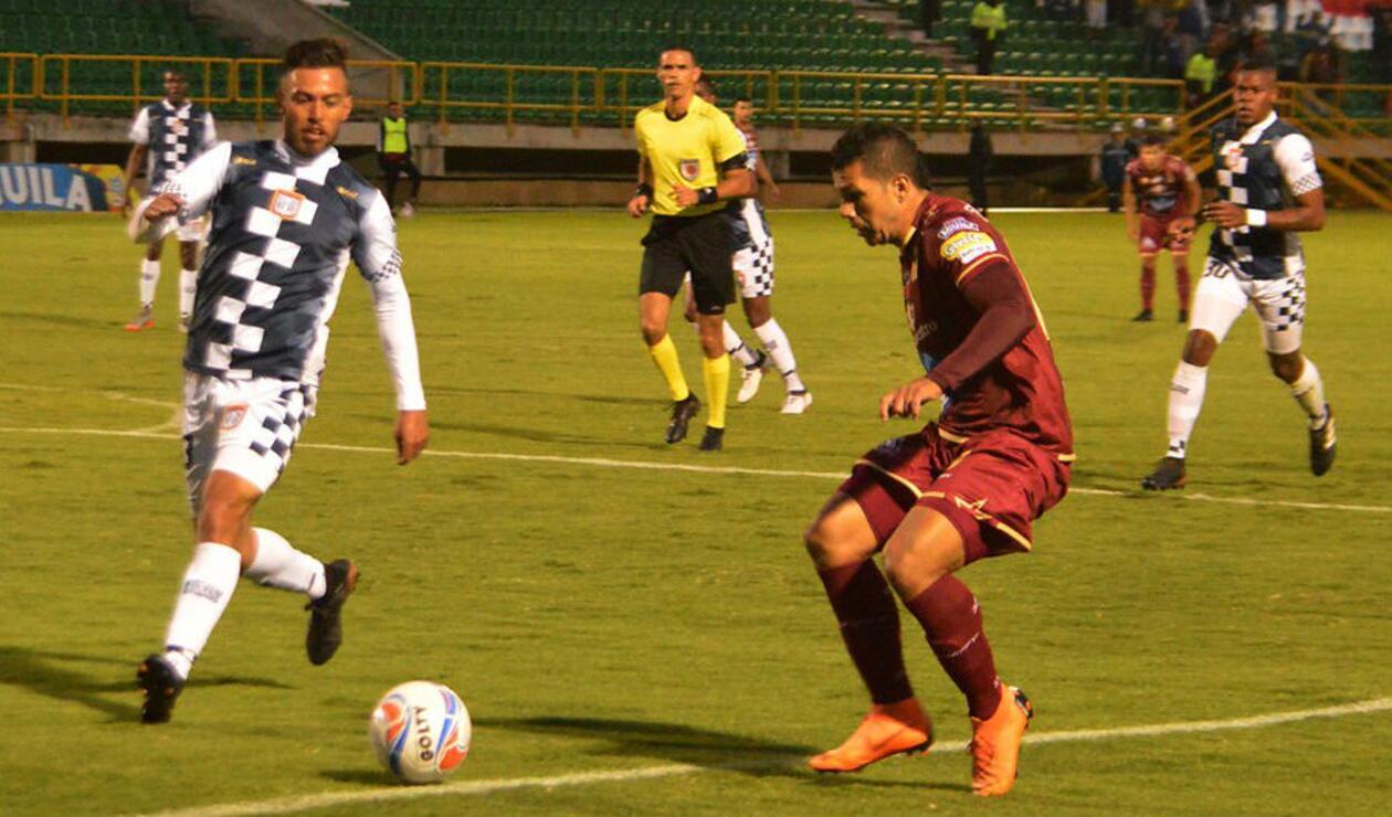 Chicó Vs Tolima en el cumplimiento de la novena fecha de la Liga Águila II-2018