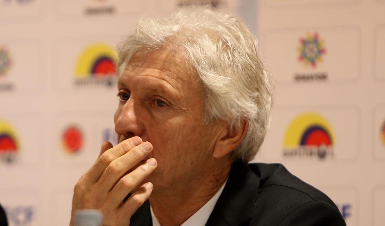 José Pékerman, luego de anunciar que no seguiría en la Selección Colombia
