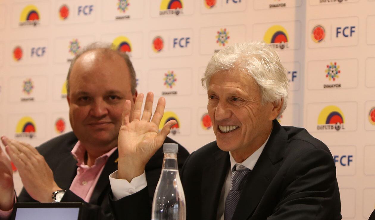José Pékerman fue aplaudido luego de anunciar que no seguiría en la Selección Colombia