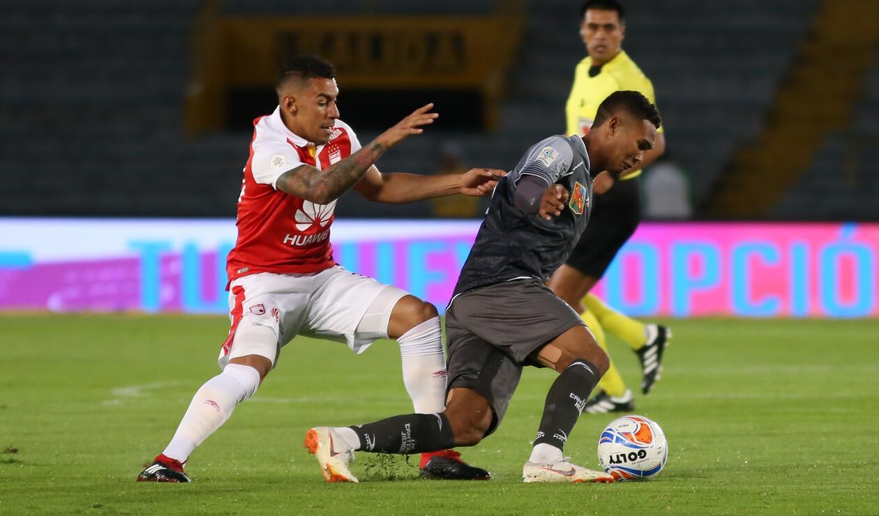 Independiente Santa Fe vs Envigado en la Liga Águila