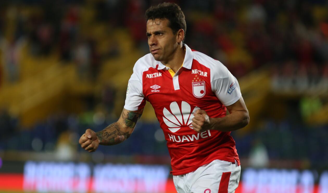 Diego Guastavino, jugador de Santa Fe