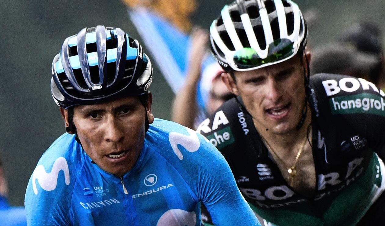 Nairo Quintana en la Vuelta a España