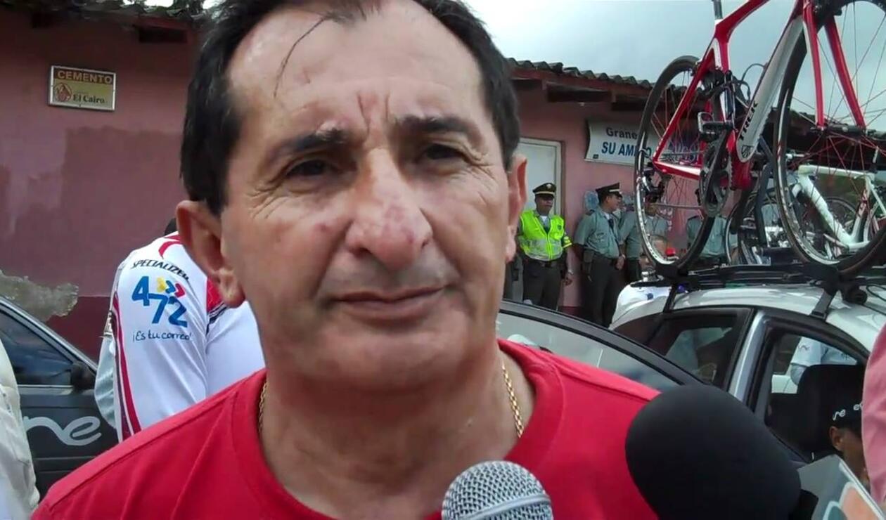 Oliverio Cárdenas, técnico del equipo 'Boyacá es para Vivirla'