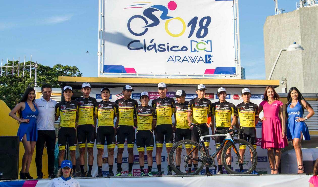 Equipo Strogman en el Clásico RCN Arawak 2018