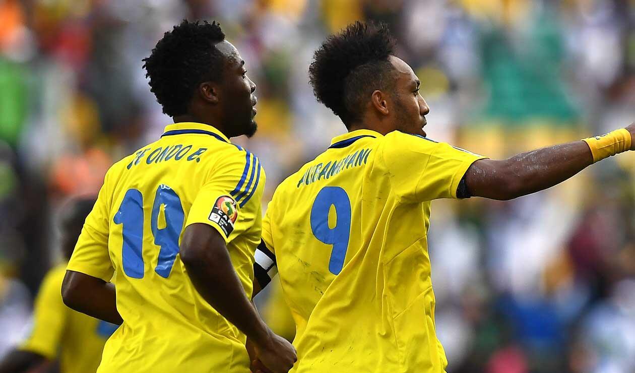 Pierre-Emerick Aubameyang, estrella y capitán de la selección africana de Gabón