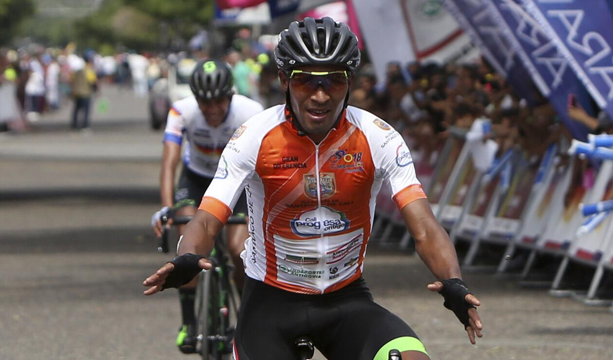 Rafael Montiel, ganador de la sexta etapa del Clásico RCN ARAWAK
