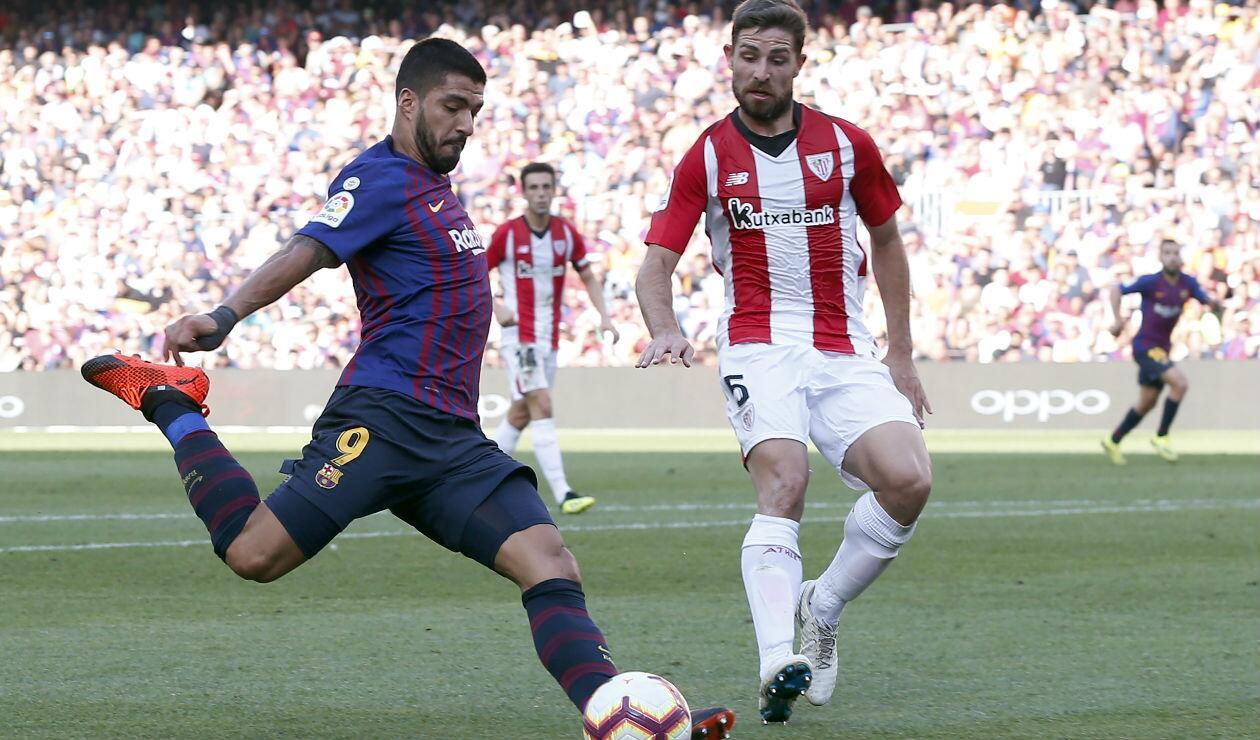 Barcelona vs Athletic de Bilbao, Liga de España