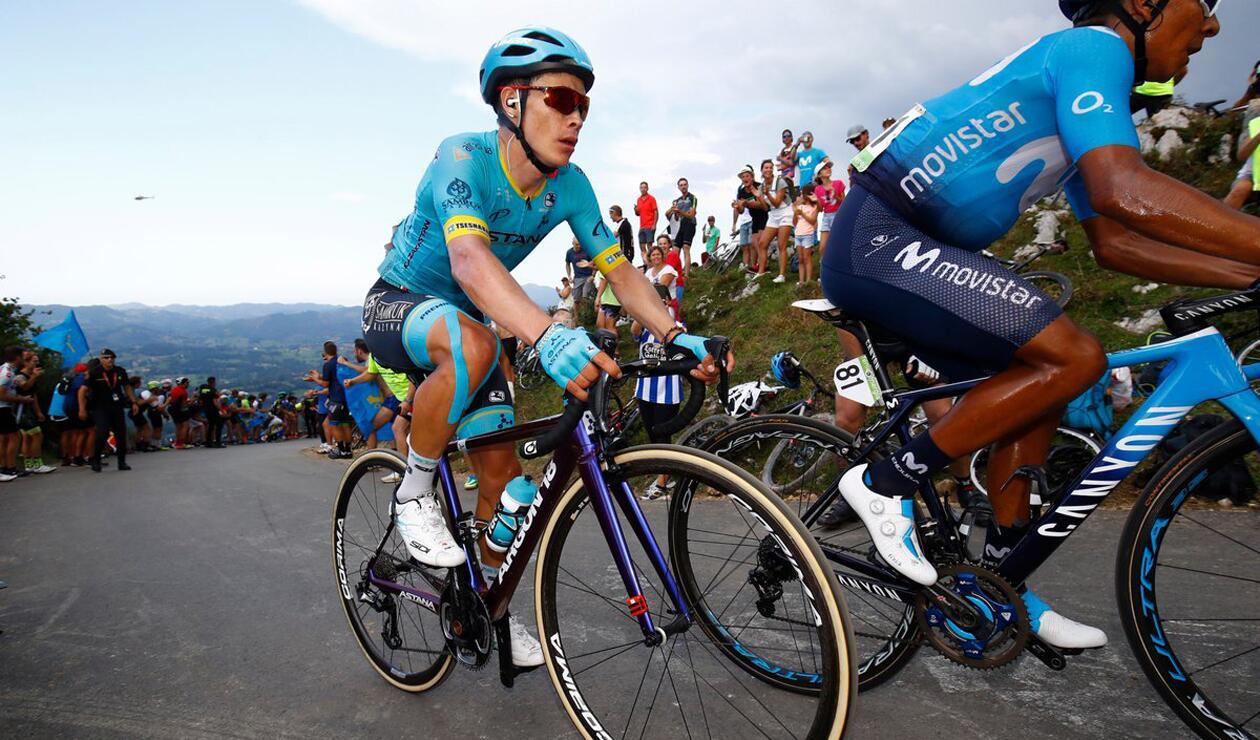 Miguel Ángel López Vuelta a España 2018