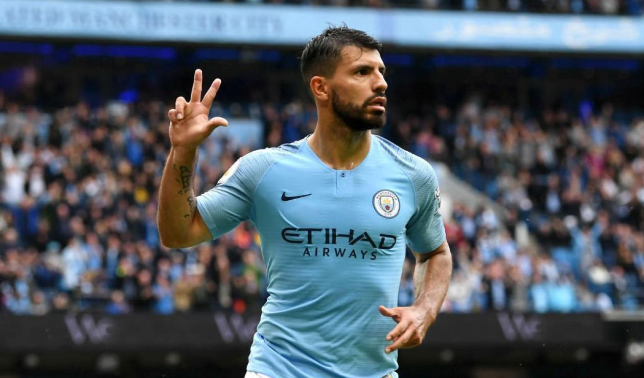 Sergio Agüero renovó con Manchester City hasta 2021