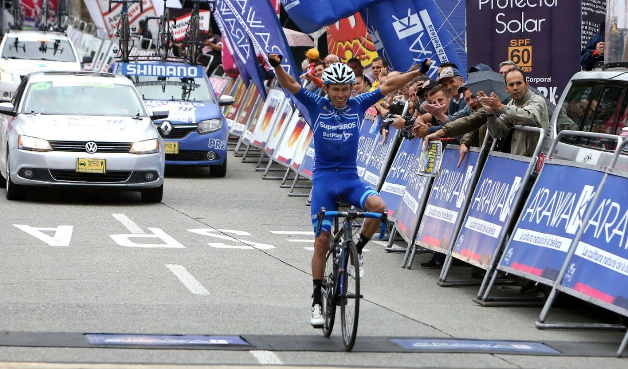 Didier Chaparro (Supergiros)  ganó la séptima etapa del Clásico RCN Arawak