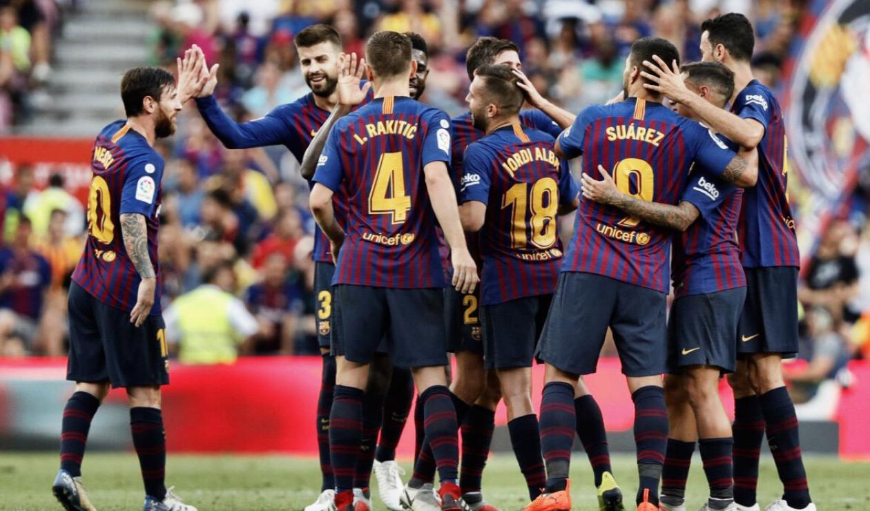Jugadores del F.C. Barcelona
