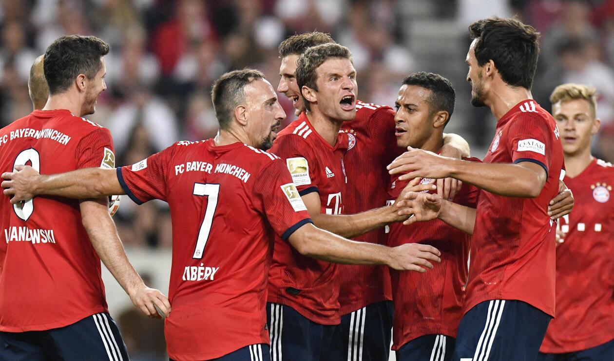 Bayern ganó ante el Stuttgart