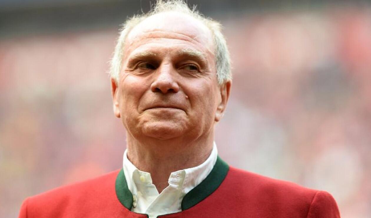 Uli Hoeness, presidente del Bayern de Múnich