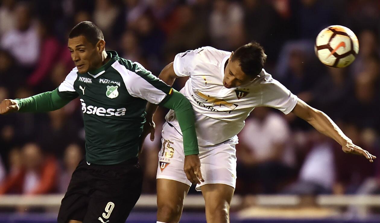 Liga de Quito vs Deportivo Cali - Sudamericana 2018
