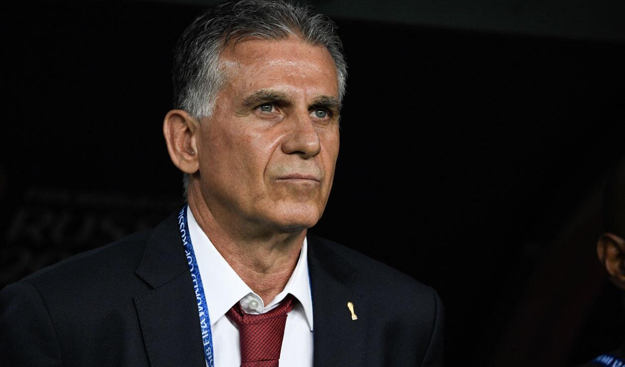 Carlos Queiroz, técnico de Irán en el pasado mundial de fútbol