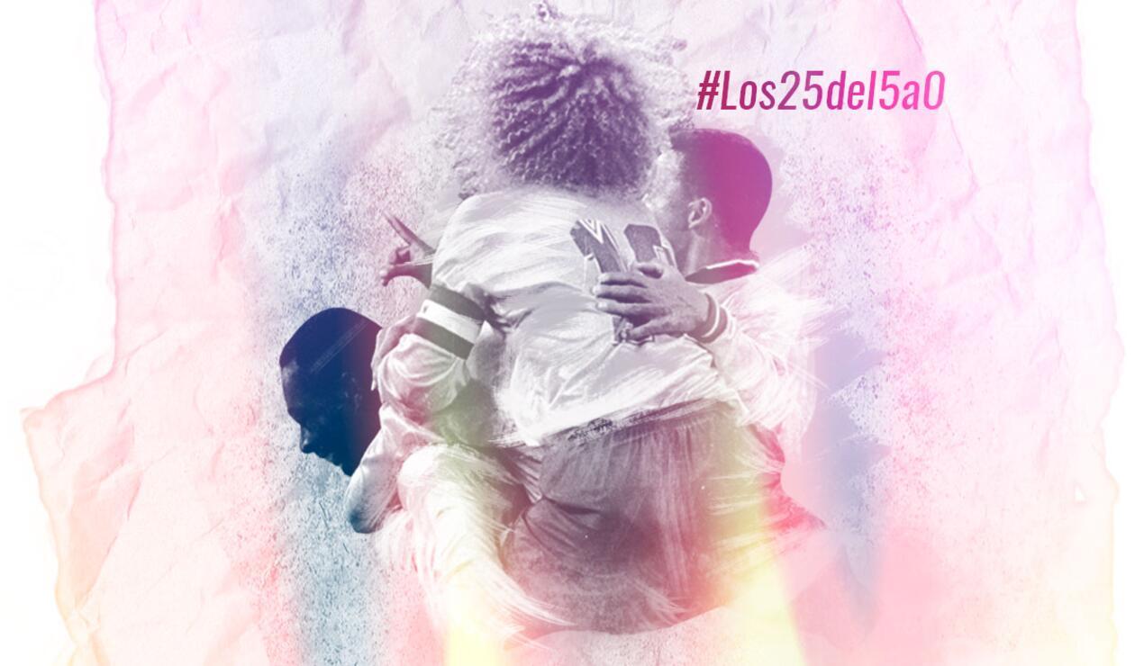 Selección Colombia - Los 25 años del 5-0