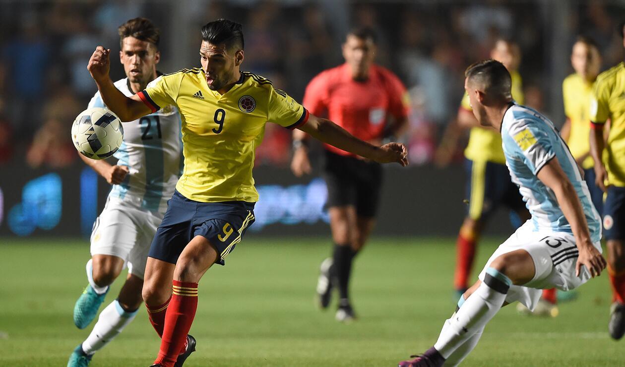 Colombia vs Argentina, eliminatorias Rusia 2018