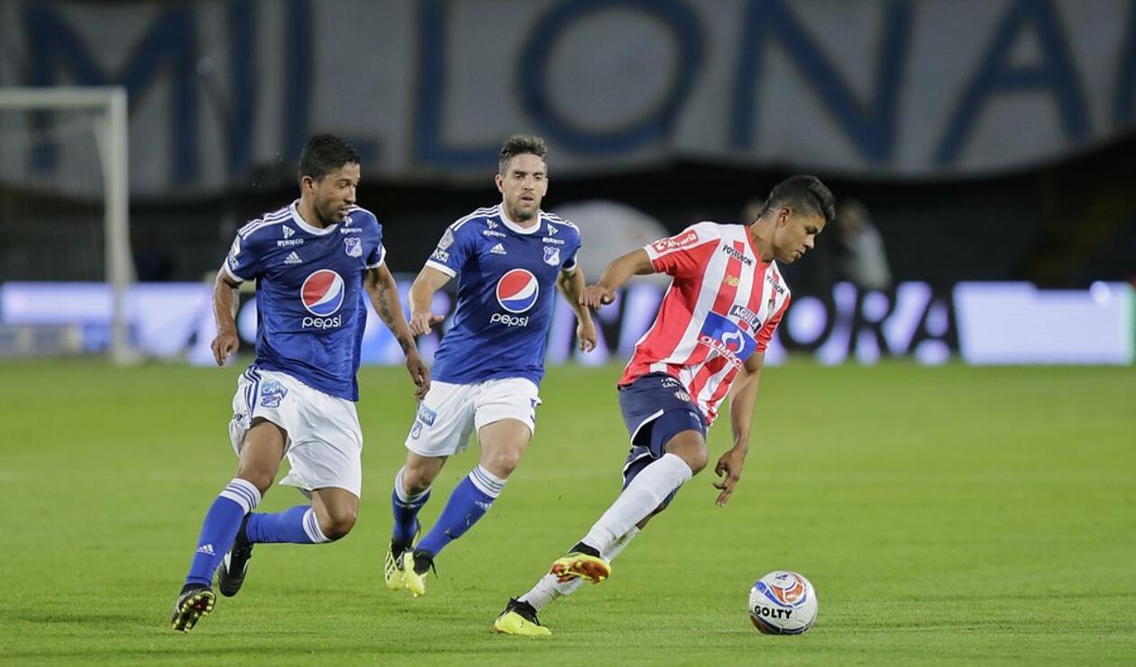 Millonarios vs Junior en la Liga Águila 2018-II