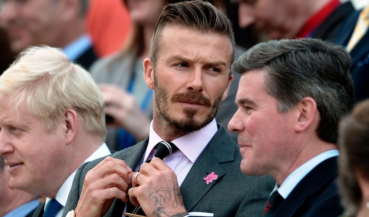 David Beckham, ex futbolista inglés