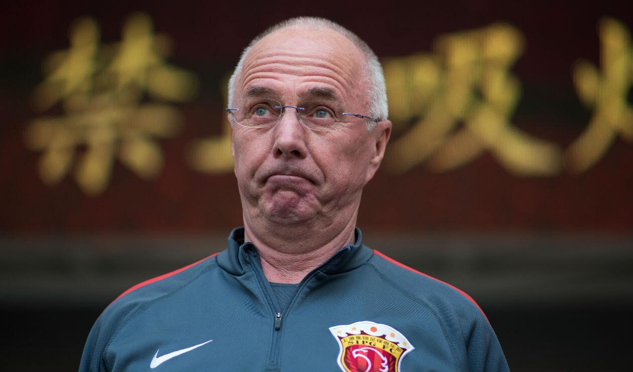 Sven-Göran Eriksson, técnico sueco