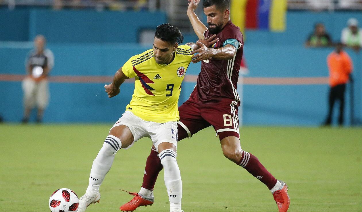 Falcao García, delantero de Colombia