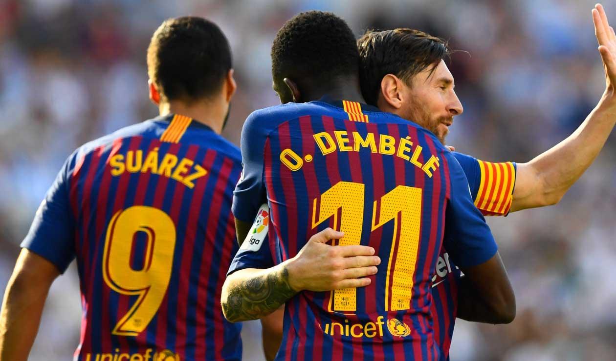 FC Barcelona, en cuatro fechas de la liga española, ya se acomoda líder solitario