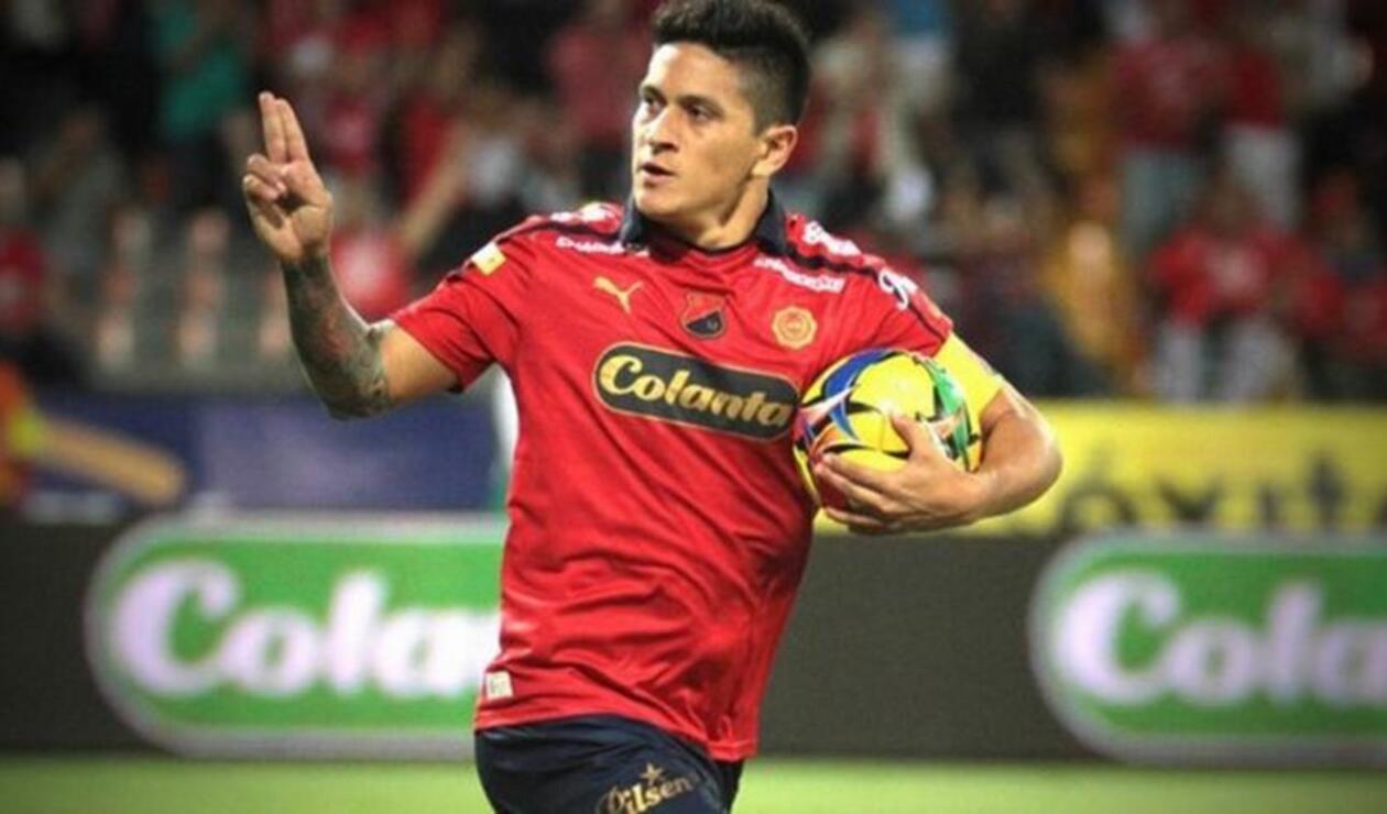 Germán Cano alcanzó 80 goles con el DIM