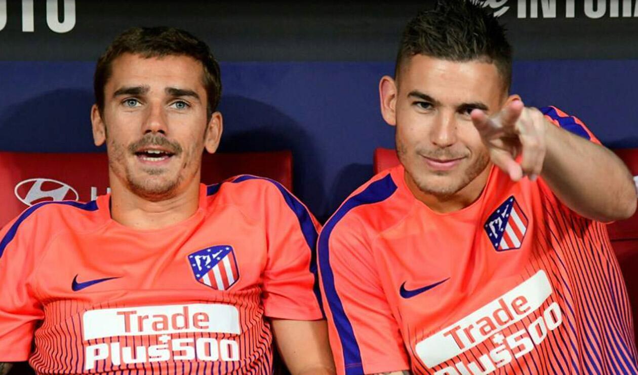 Griezmann y Lucas Hernández