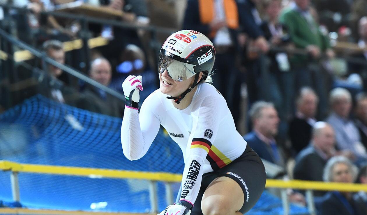 Kristina Vogel, ciclista alemana, una de las mejores de la historia