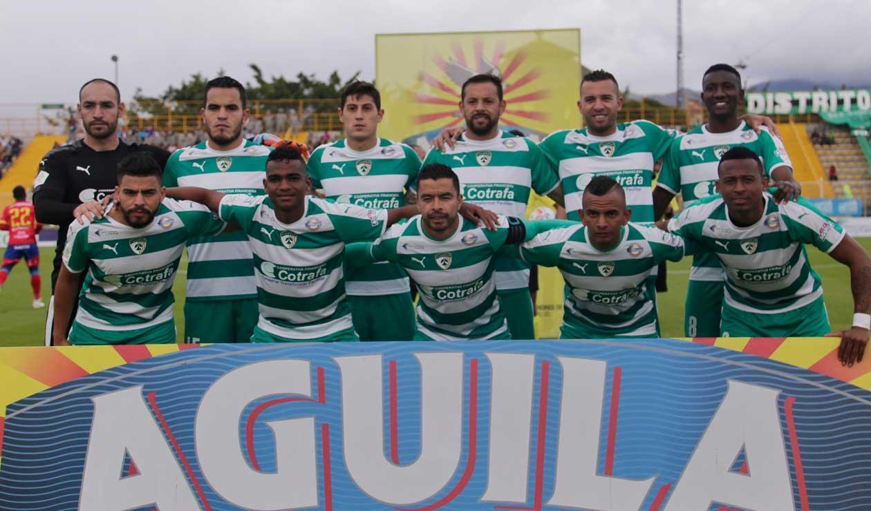 La Equidad, equipo que hasta la novena fecha fue líder de la Liga Águila
