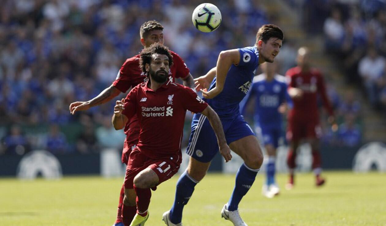 Liverpool derrotó al Leicester City