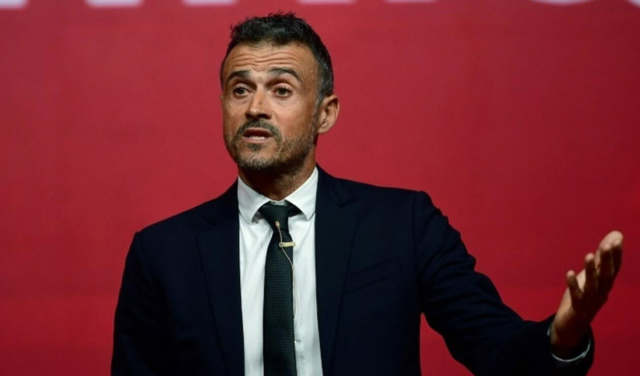 Luis Enrique, técnico de España