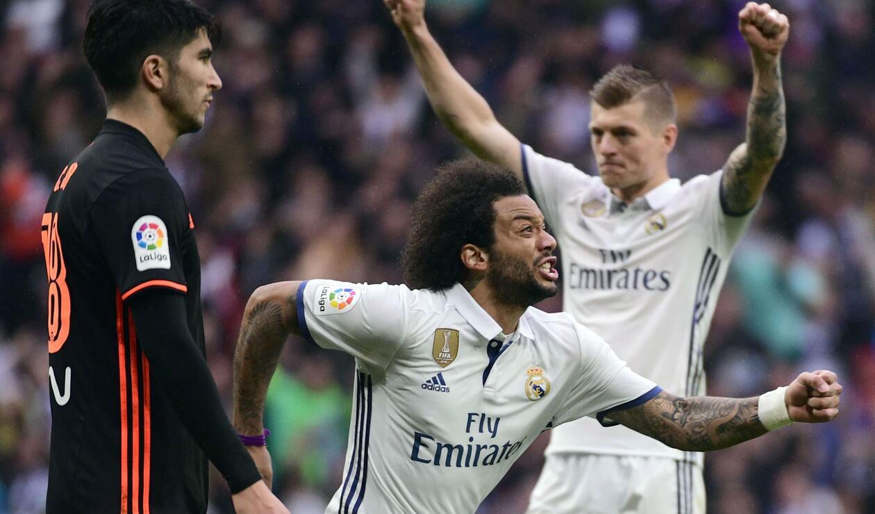 Marcelo aseguró querer jugar muchos años más en el Real Madrid