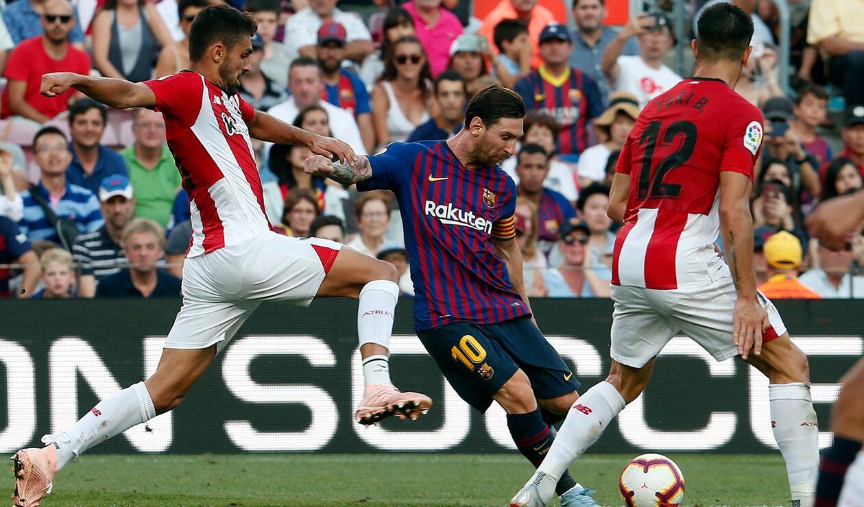 Leo Messi cuestiona rendimiento del Barcelona