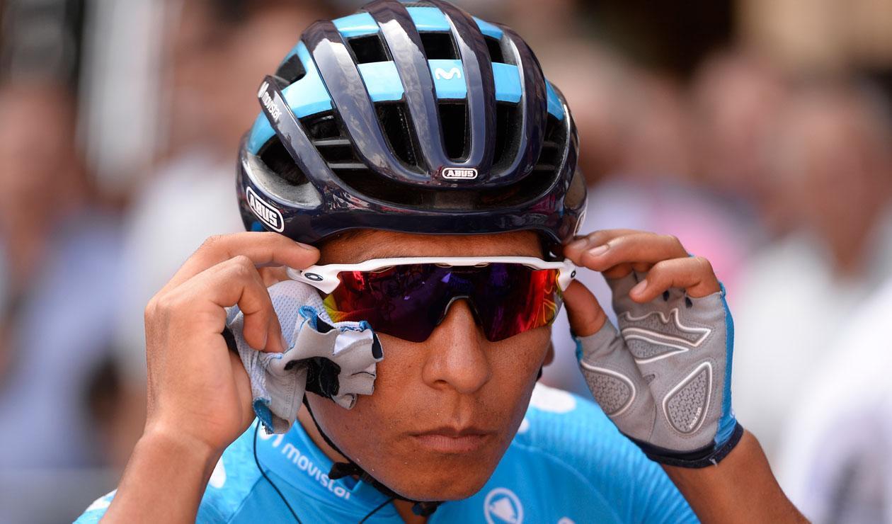 Nairo Quintana, ciclista del Team Movistar