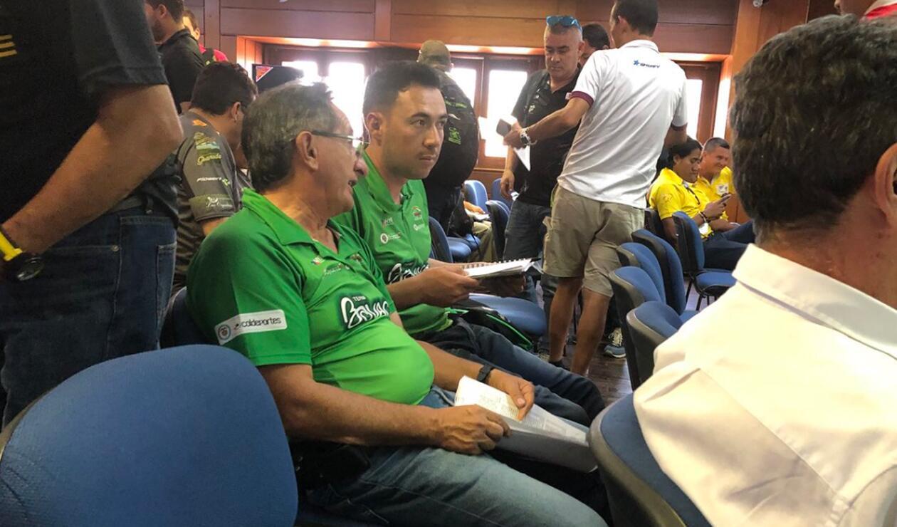 Oliverio Cárdenas y Fernando López