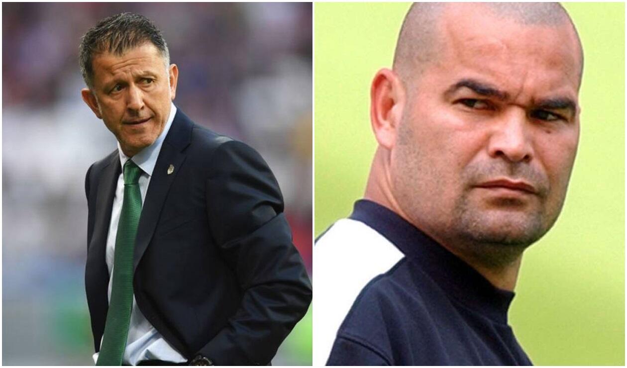 Juan Carlos Osorio (Colombia) y José Luis Chilavert (Paraguay)