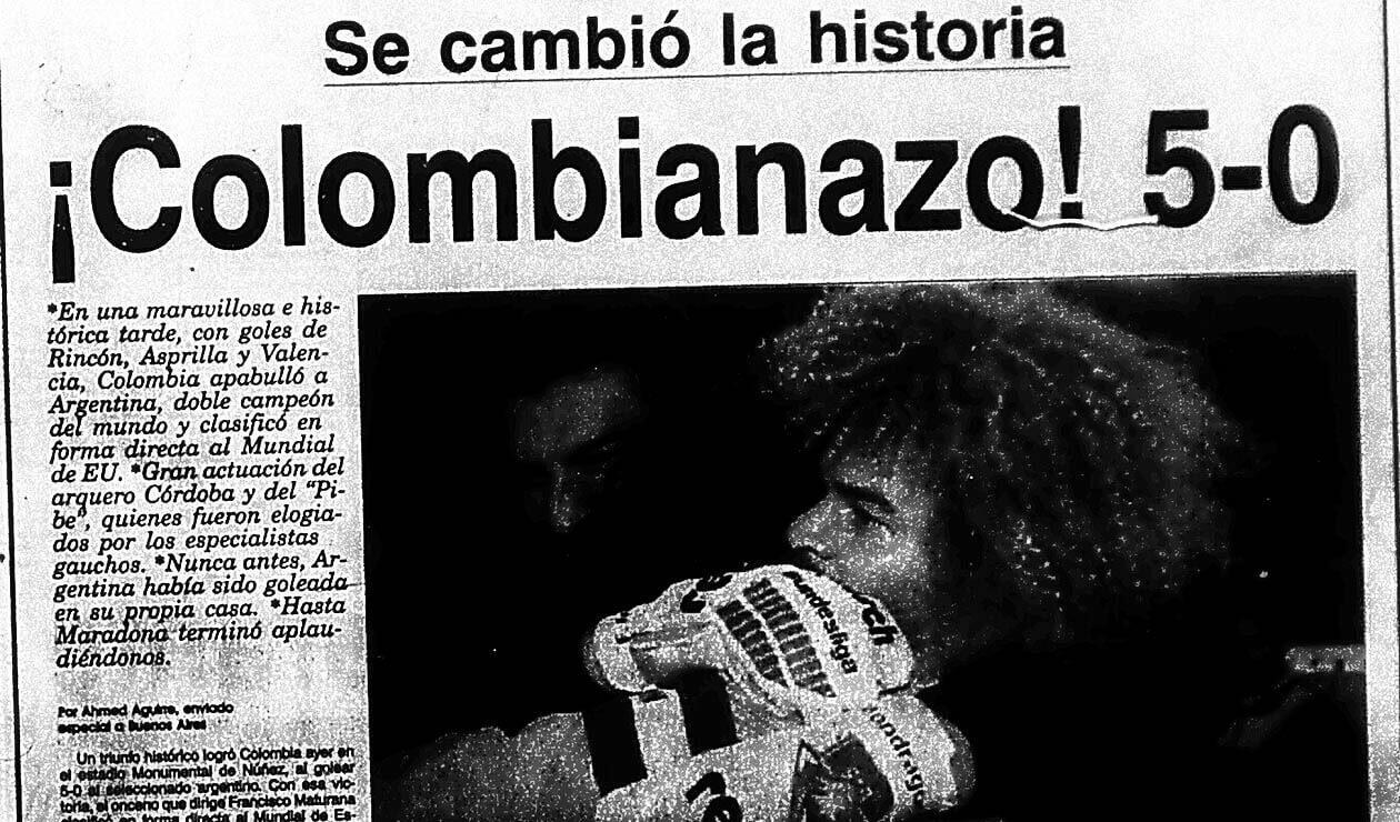 Portada del diario El Heraldo el 6 de septiembre de 1993