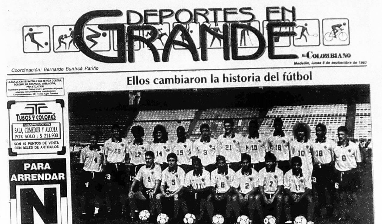 El diario El Colombiano y las reacciones por el triunfo de Colombia ante Argentina 5-0