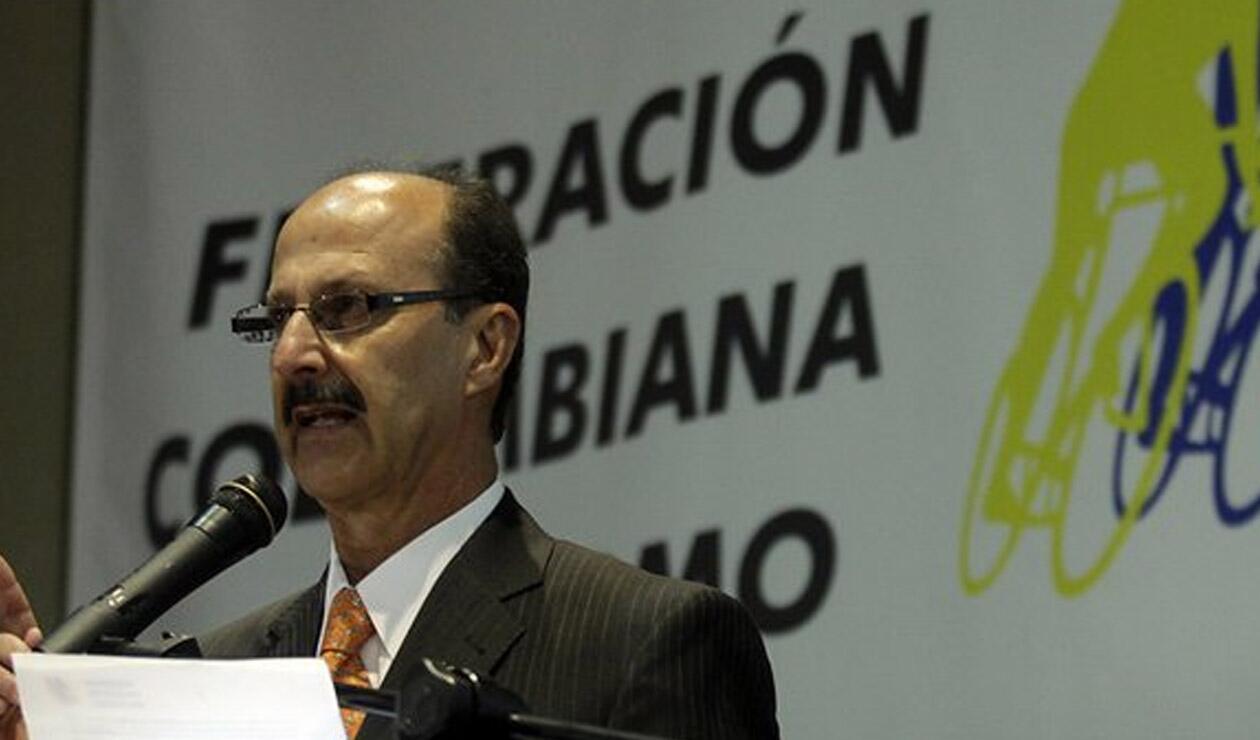Jorge Ovidio González, presidente de la Fedeciclismo