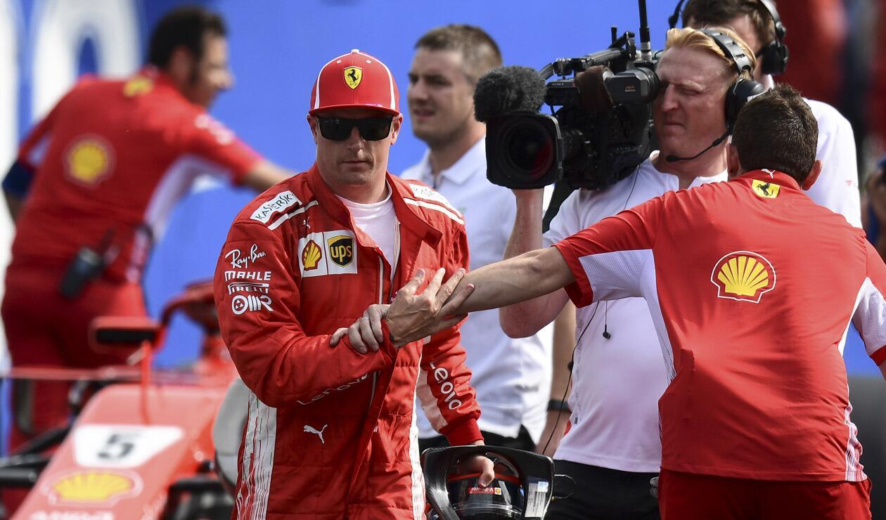 Kimi Raikkonen, piloto F1